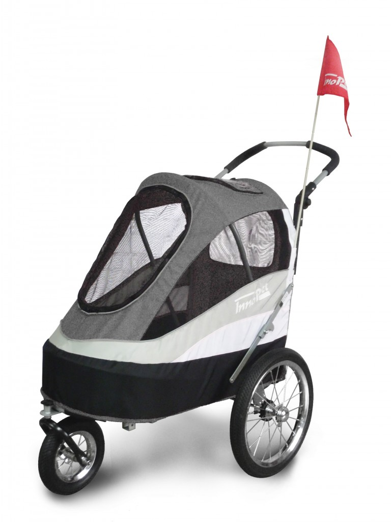 InnoPet Sporty Trailer AT black/grey