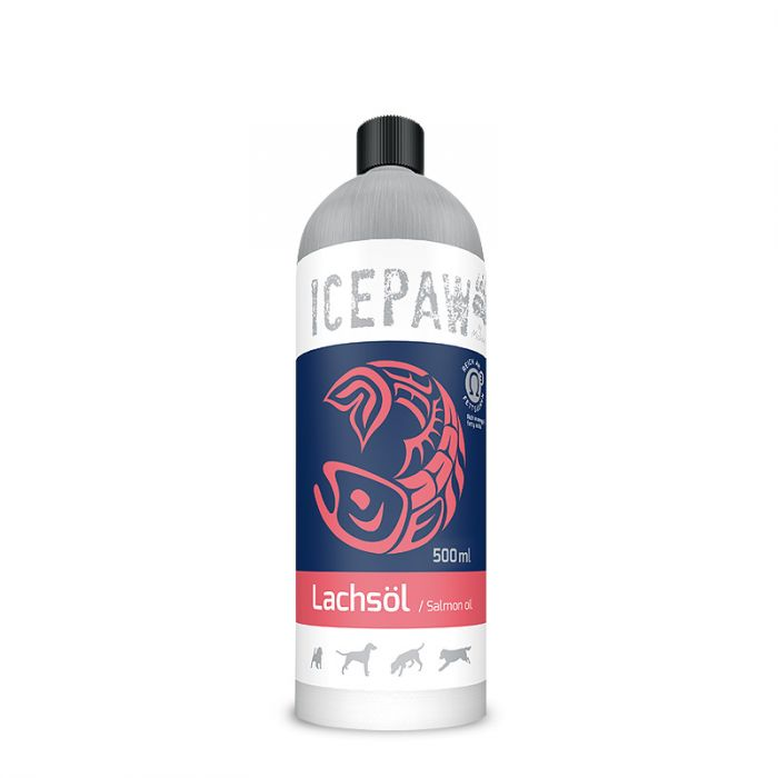Icepaw Dog Lachsöl 500ml