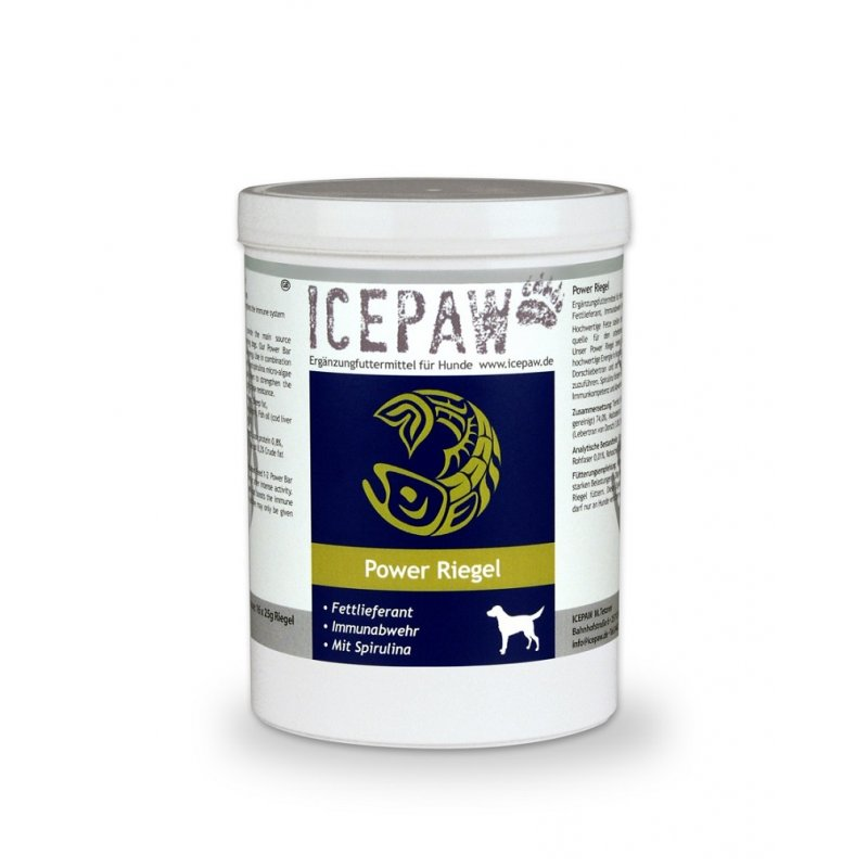 Icepaw Dog Power Riegel 16x25g